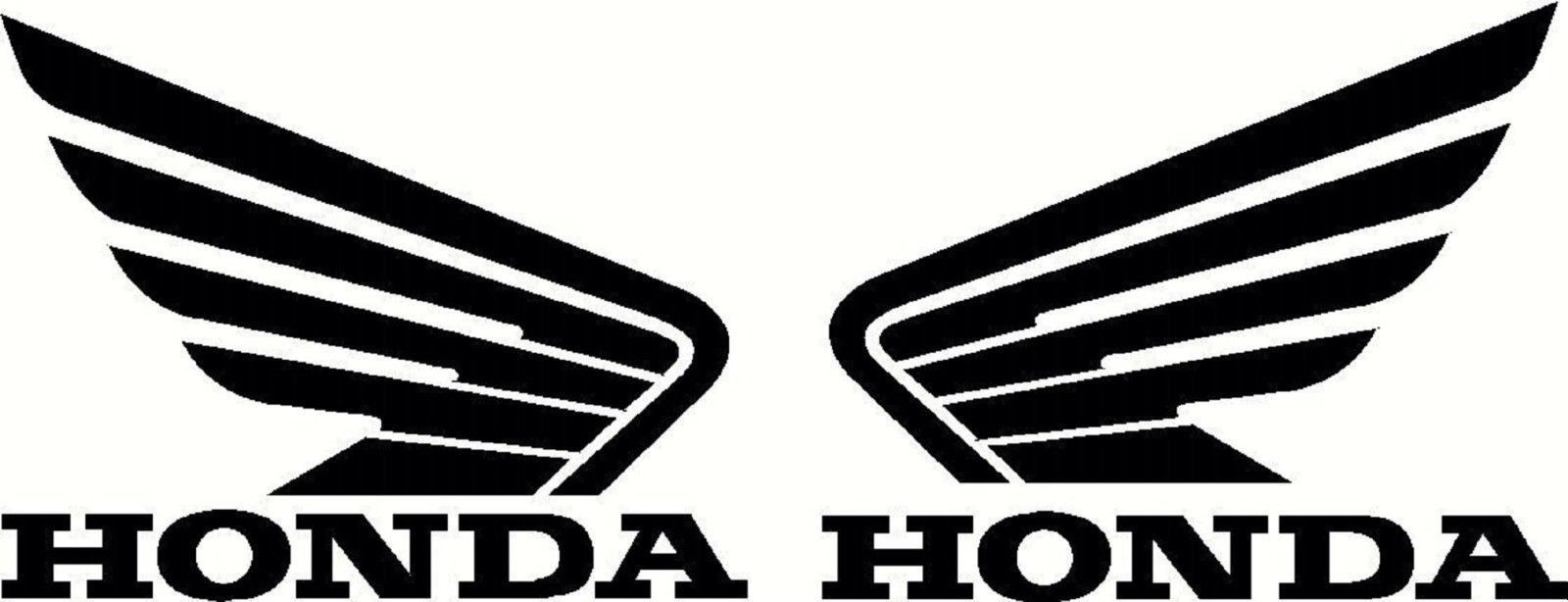 Vintage Honda Motorcycle Decals