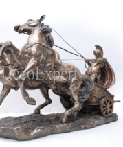 Roman Chariot Figurine Colosseum Rome Italy Gladiator * Free Shipping   - $99.00