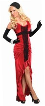 NEW Secret Wishes 30s Jazz Singer Ruched Dress, Red/Black, X-Small BRAND... - $19.09