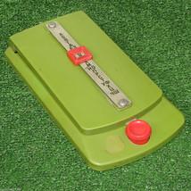 Vintage Desktop Rolodex Flip Address Book Notes Clip Green Plastic Mint NOS - $38.61