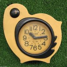 Yellow Bird Deco Nice Vintage Alarm Clock SLAVA Soviet USSR 11 Jewels Wo... - $38.61