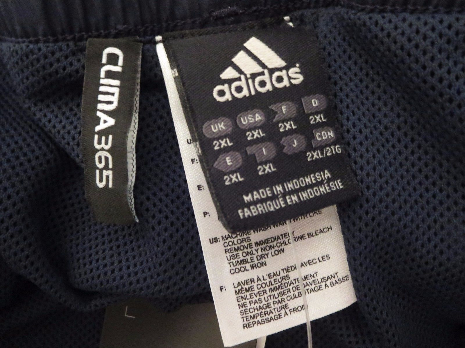 Adidas Mens 2XL Athletic Training Pants 50% and 50 similar items