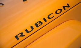Pair of Rubicon hood Truck Vinyl Sticker Decals 4x4 - $25.00