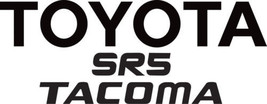TOYOTA TRUCK TAILGATE DECAL STICKER SR5 Tacoma - $22.00