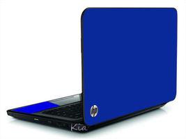 Blue Vinyl Laptop Lid Cover Skin Decal Fits Hp Pavilion G6 - $10.99
