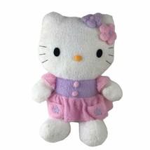 "Sanrio Smiles Hello Kitty Large Terry Cloth Plush Stuffed Animal Doll 18"" - $27.72"