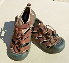 KEEN Water River Hiking Sport Close Toe Sandals YOUTH Size 6 Color Brown /1 - $17.09