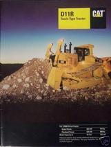 1997 Caterpillar D11R Crawler Tractor Brochure - Color - $15.00