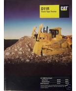 1997 Caterpillar D11R Crawler Tractor Brochure - Color - $15.00