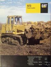 1994 Caterpillar 973 Track Loader Brochure - Color - $13.00