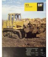1994 Caterpillar 973 Track Loader Brochure - Color - $13.00