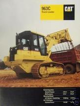 1999 Caterpillar 963C Track Loader Brochure - Color - $13.00