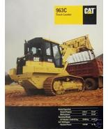 1999 Caterpillar 963C Track Loader Brochure - Color - $13.00