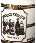 Unique Culver Coffee Mug, Ellis Island Porcelain Coffee Cup  - $24.99