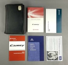 Toyota Camry 2008 OEM Owner / Operator's Manual Guide Original Faux Leather Case - $29.65