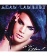 Adam Lambert: For Your Entertainment CD - $19.78