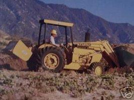 1989 Ford 345C, 445C, 545C Loader Tractors Color Brochure - $13.00