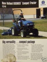 2002 New Holland TC24D Compact Tractor Specifications Sheet - $3.00
