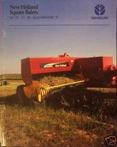 2005 New Holland 565, 570, 575, 580 Balers, 72 Bale Thrower Brochure - $4.80