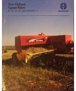 2005 New Holland 565, 570, 575, 580 Balers, 72 Bale Thrower Brochure - $4.80