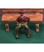 Manoil Cast Iron Cowboy Vintage Toys - $25.00