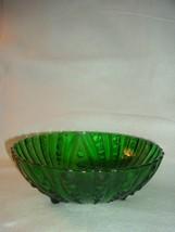 Vintage Hocking Forest Green 3 Toed Drops patte... - $9.99