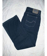 Levi Strauss Signature Jeans Low Slim Flare Cut Size 13 Medium Excellent... - $15.99