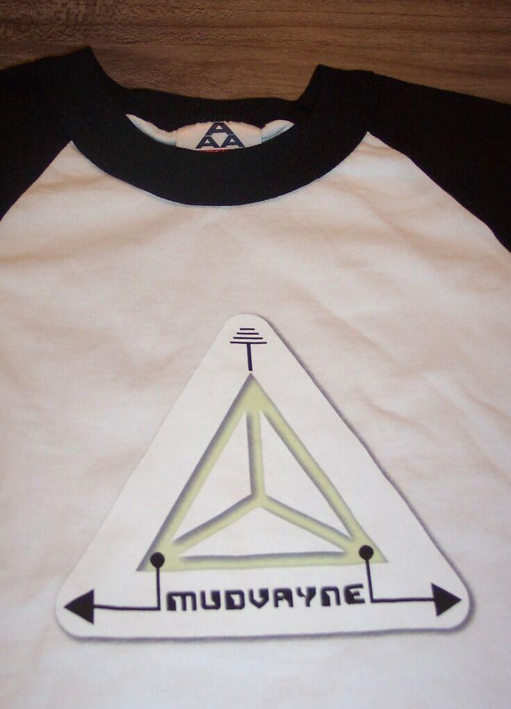 VINTAGE 70's STYLE MUDVAYNE Long Sleeve T-Shirt MEDIUM METAL BAND NEW