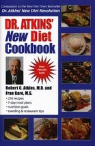 Dr. Atkins' New Diet Cookbook [Hardcover] [Aug 15, 2000] Atkins, M.D., R... - $1.50