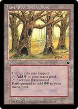 Magic The Gathering-Fallen Empires-Havenwood Battleground - $0.15