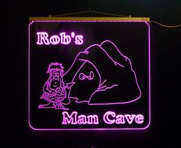 Personalized LED Game Room, Man Cave, Garage, Hanging LED Sign image 2