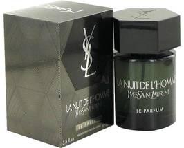 Yves Saint Laurent La Nuit De L'homme Le Parfum Cologne 3.4 Oz EDP Spray image 6