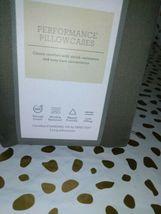 King Threshold 400 TC Performance Pillowcase Set River Birch  sealed new image 3