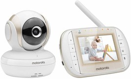 "Motorola MBP30A Video Baby Monitor, 3"" Parent Unit, Remote Pan Scan [New... - £60.27 GBP"