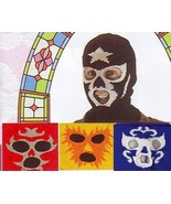 MEXICAN WRESTLING MASK in YELLOW - $15.00