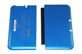 OFFICIAL NINTENDO 3DS XL HOUSING TOP, BOTTOM & COVER BLUE SHELL PART USA - $13.99