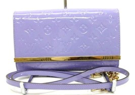 "AUTHENTIC LOUIS VUITTON Vernis ""Ana"" 2Way Shoulder Bag Lilac M90115 - $1,880.00"