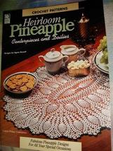 Heirloom Pineapple centerpieces and Doilies patterns white birches  VTG ... - $12.95