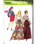 1969 SKIRT-PANTS-BLOUSE Pattern 8550-s Size 10 Uncut - $9.99