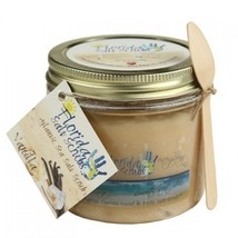 Florida Salt Scrubs Vanilla Body Feet Hands Bath Salt Scrub, 10.5 oz Jar - $19.99