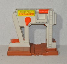 Vintage Fisher Price Little People 943 Lift & Load Railroad Depot Building - $14.99