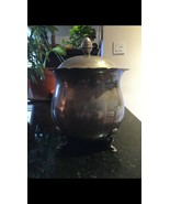 Vintage Fisher Large Silverplated Silverplate Champagne Ice Bucket Mid Century - $58.41