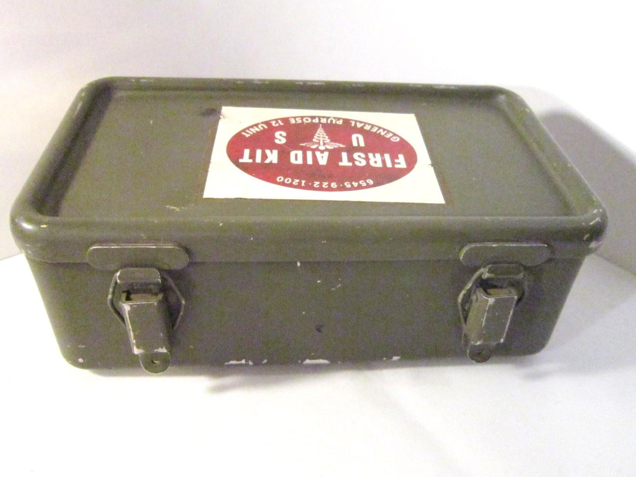 Vietnam Era 1967 US Military First Aid Kit and 50 similar items