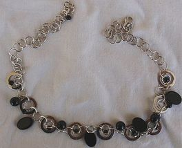 Masimoruaro oynx and silver necklace 4 thumb200