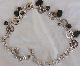 Masimoruaro oynx and silver necklace 1 thumb200