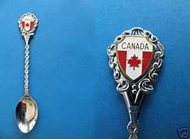 Ottawa Ontario Souvenir Collector Spoon Collectible Canada Maple Leaf Flag  - $5.95