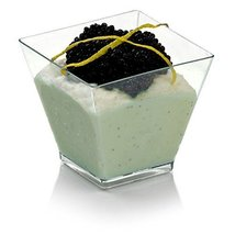 OnDisplay DDC-KUBO100 100 Count Kubo Disposable Dessert Cups, Clear - $20.74