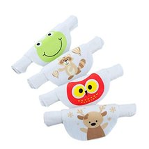 4PCS Cotton Baby Sweat Absorbent Towel 4 Layers Sweat Wicking Pads Bibs ... - $17.83