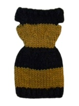 Barbie Doll Clothes Knit Wide Striped Sweater Dress Handmade - $6.49