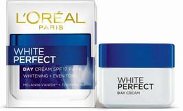L'OREAL PARIS White Perfect Day Cream SPF17 PA++ Whitening + Even Tone 5... - $20.76